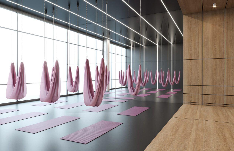 Ladies Fitness Center Interior Design Riyadh Saudi Arabia Cas Fitness Center Design Gym Design Interior Gym Interior