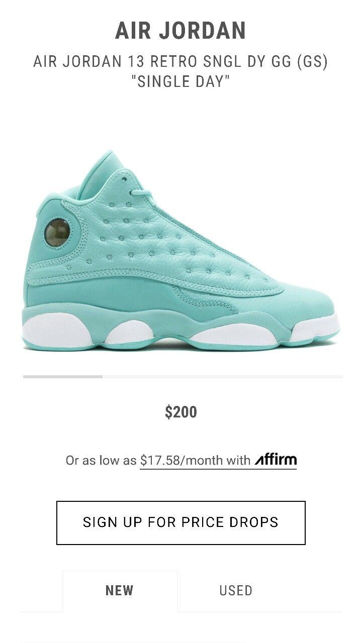 Nike Boys Air Jordan 9 Retro Low BG Pantone University Blue//White Leather Size 5Y