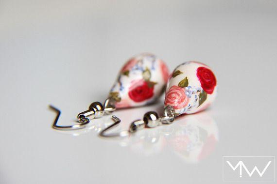 Boucles d'Oreille - Pendantes - SECRET GARDEN - Romantique