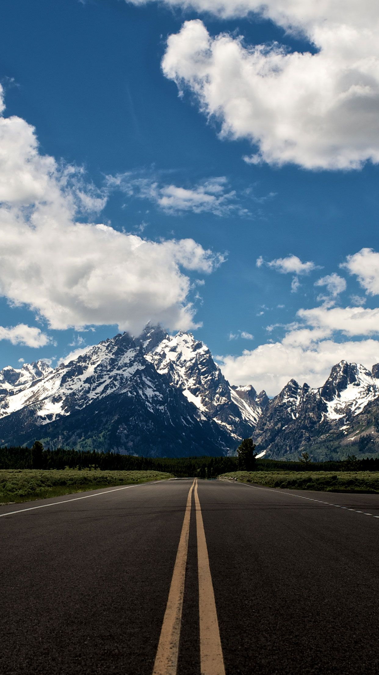 Mountain Road Nature Wallpaper For Iphone And Android More Like This On Wallzapp