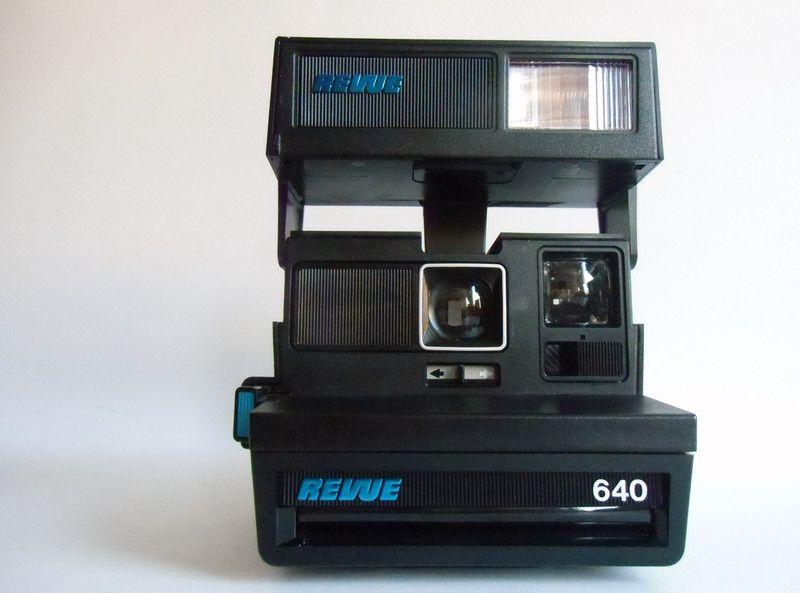 Vintage Polaroid Polaroid 640 Revue Sofortbildkamera Ein Designerstuck Von Susduett Bei Dawanda Sofortbildkamera Kameras Kamera