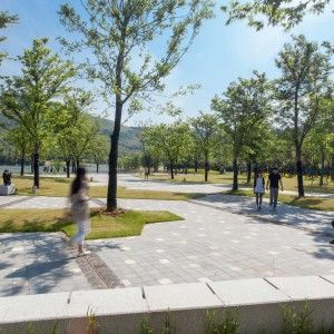 Nanjing Niushoushan Cultural Park by HASSELL