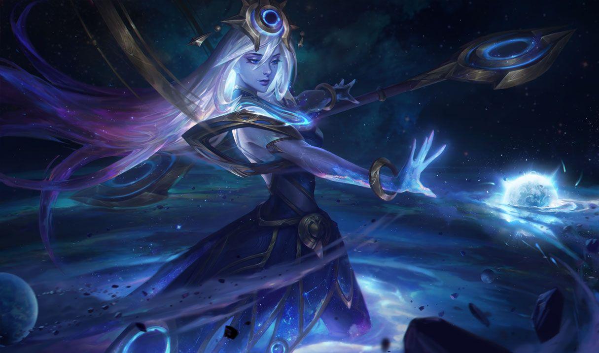 Cosmic Lux League Of Legends Lux Skins Dark Star
