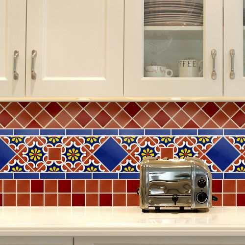 images of mexican tile backsplash - google search | kitchen