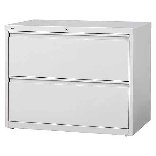 Staples Commercial 42 Wide 2 Drawer Lateral File Cabinet Light Gray At Staples In 2020 Lateral File Cabinet Filing Cabinet Cabinet