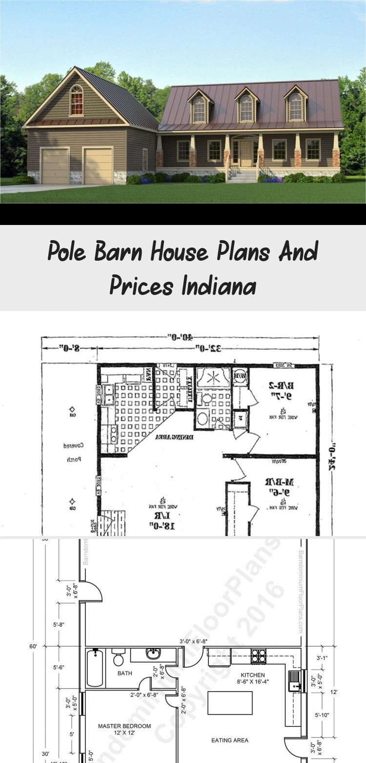 Pole Barn House Plans And Prices Indiana #polebarnhomes