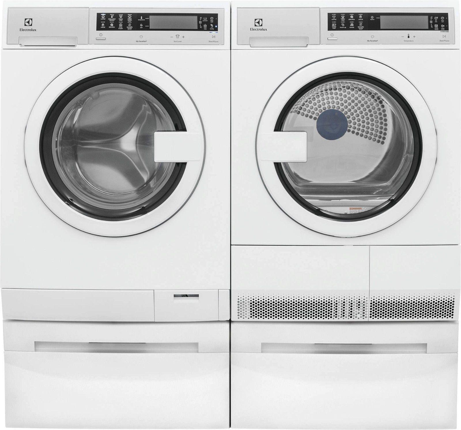 washerdryer id electrolux step dryer pedestal washer