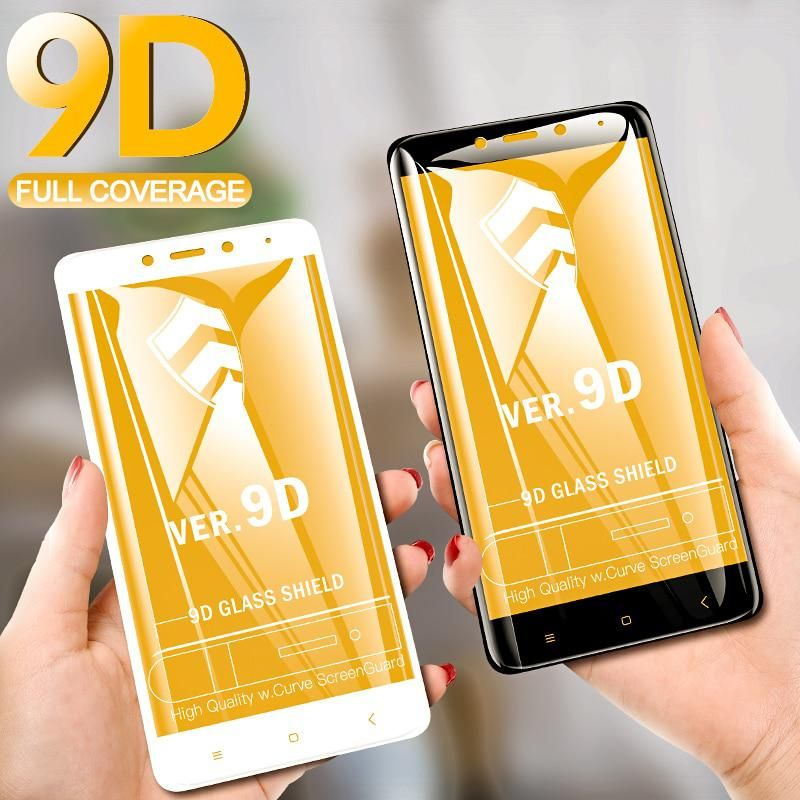 Voero 9d Full Cover Tempered Glass For Xiaomi Redmi Note 4 Screen Protector Protective Glass For Xiaomi Redmi Note 4x Glass Film Phone Screen Protector Screen Protector Xiaomi