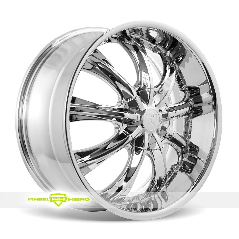 Redsport RSW33 Chrome Wheels Available Here: http://www.wheelhero ...