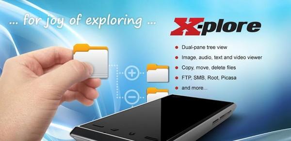 XPlore File Manager Donate 4.16.14 менеджер файлов