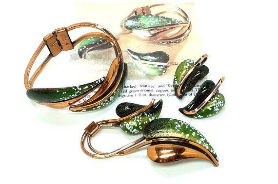 TeamLove FlashPro Treasury ~ Vintage Jewelry Sets / Parures by Marlo on Etsy