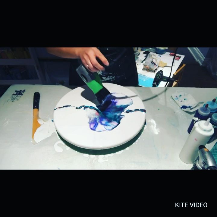 #127 – Ten color dutch pour! Check out the results!   Acrylic Pouring   Fluid Artist – YouTube