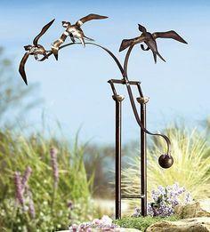 Birds In Flight   Eclectic   Garden Sculptures   Collections Etc.