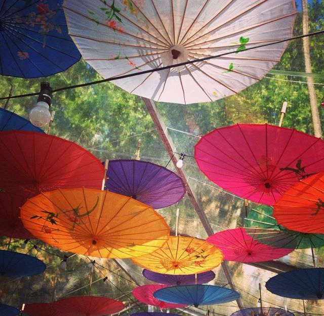 Hanging Umbrellas Umbrella Decorations Celebrations Wedding Stuff