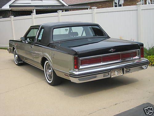 1980LincolnContinentalTownCoupe  1980 Lincoln Town Coupe