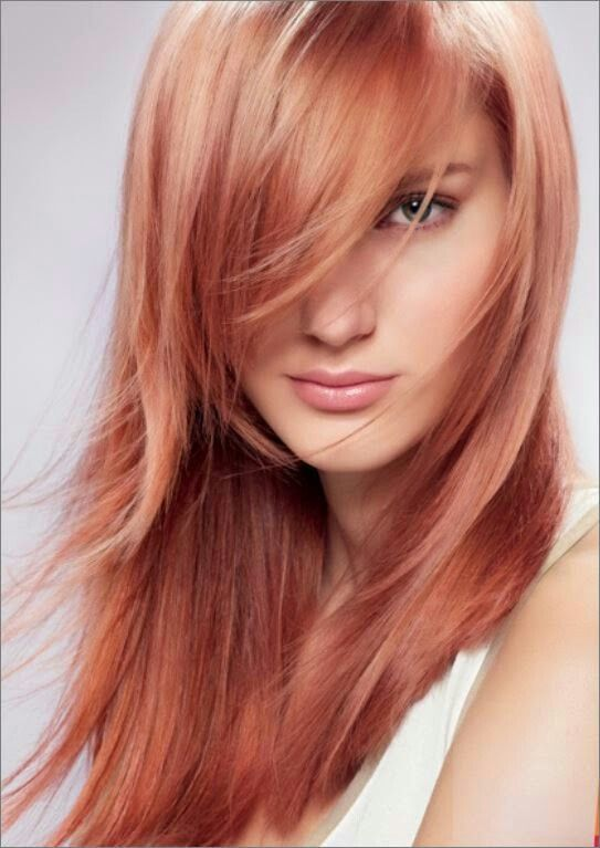 Beautiful Rose Gold Hair: Killer Strands Hair Clinic: New Color Spring 2015