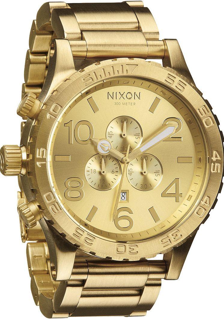 ALL hombre NIXON 30 GOLDHourChoiceRelojes 51 CHRONO 8mNwn0