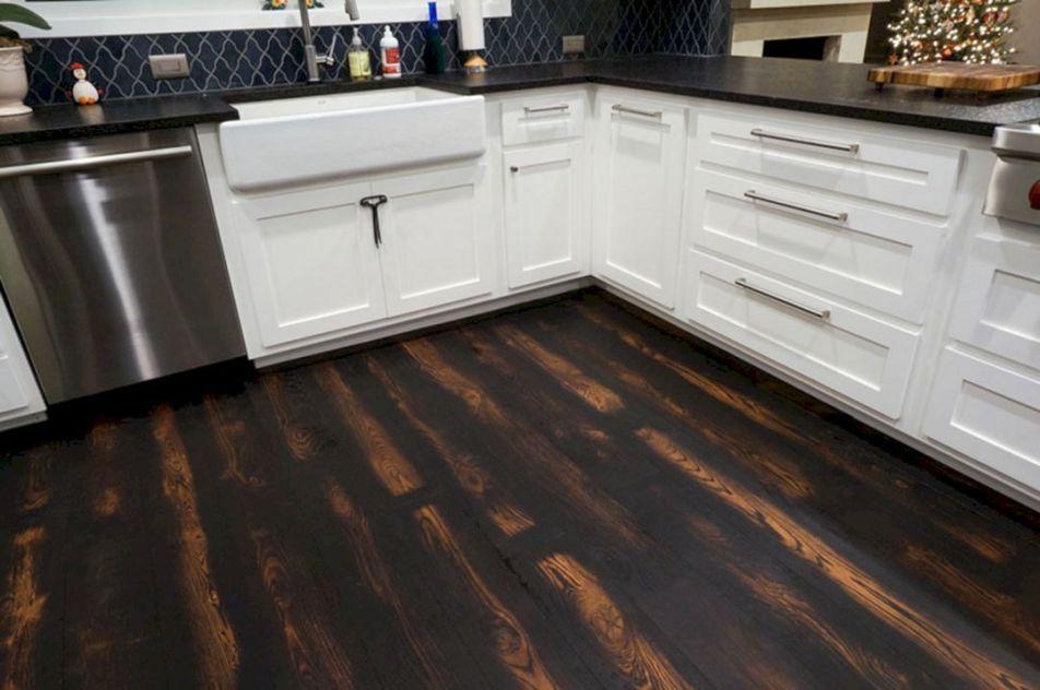 25 Gorgeous Burnt Wood Floors Design Idea For Amazing Home Freshouz Com Wood Floor Design Diy Wood Floors Wood Floor Kitchen