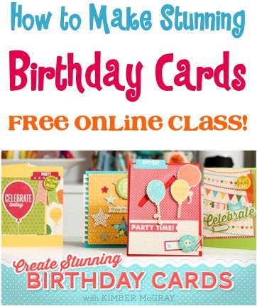 make a birthday card free online