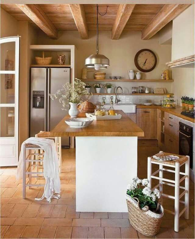 Madera....... | decoracion casas | Pinterest | Madera, Cocinas y De ...