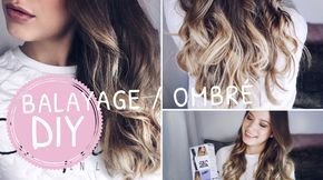 diy balayage ombre tutorial hair in 2019 balayage. Black Bedroom Furniture Sets. Home Design Ideas