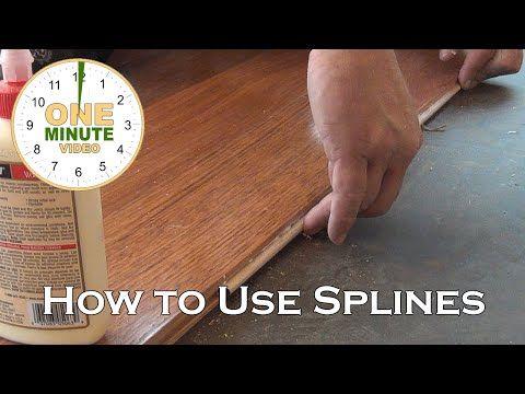 W Hardwood Flooring Splines Hardwood Floors Flooring House Flooring