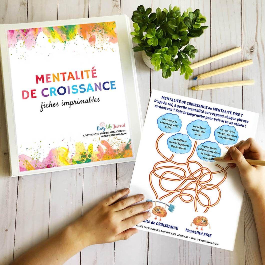 Kit De Fiches Imprimables Pour Developper Une