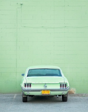 La Semaine Mint Walls Cars And Pastels
