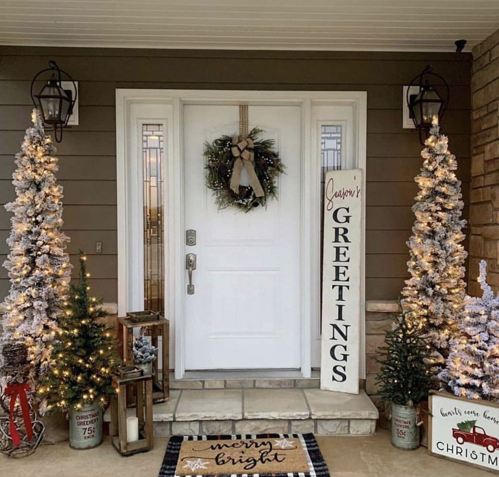 40 Easy DIY Christmas Decorations Ideas for Your Front Yard