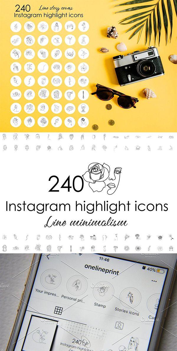 240 White Instagram Highlight Covers in 2020 Instagram