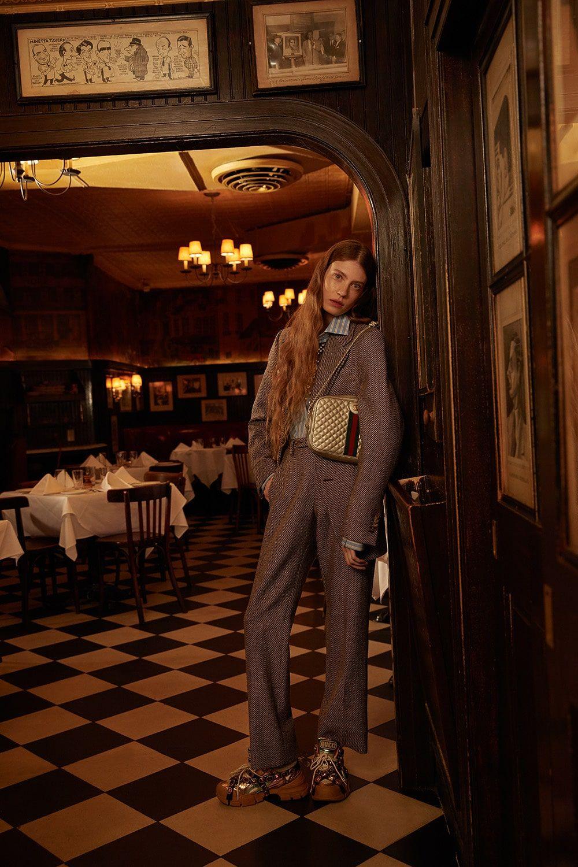 Harper's Bazaar x ELLE x Gucci Editorial fashion