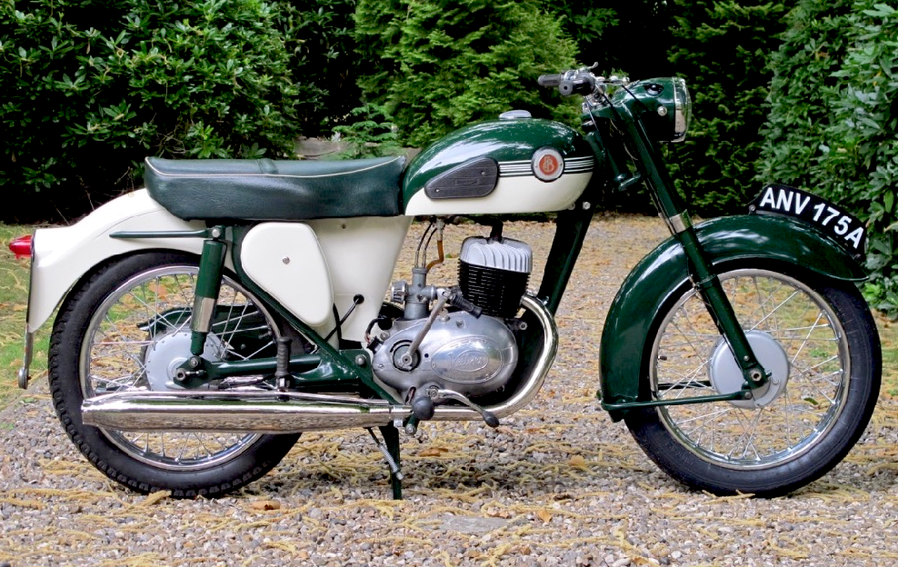 1963 Francis Barnett Cruiser 89 with 250cc 4T Villiers Twin Cylinder