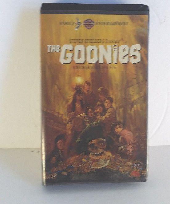 The Goonies Vhs 1994 Art Goonies Ebay Clam Shell