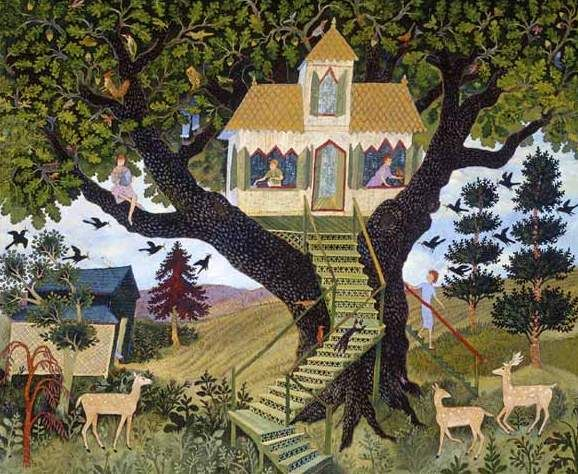 Anna Pugh painting