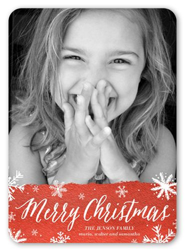 Merriest Flurries Christmas Card Christmas Cards Coupons