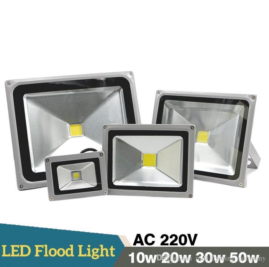 Cob New Led Flood Outdoor Floodlight Lamp 10w 20w 30w 50w 110 240v