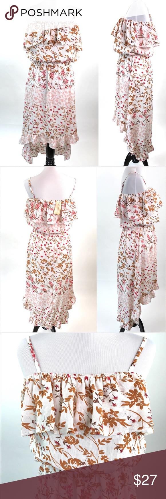 099fbb12ed American Rag Cie Floral High Low Dress Size Medium American Rag Cie Dress  Size Medium Floral