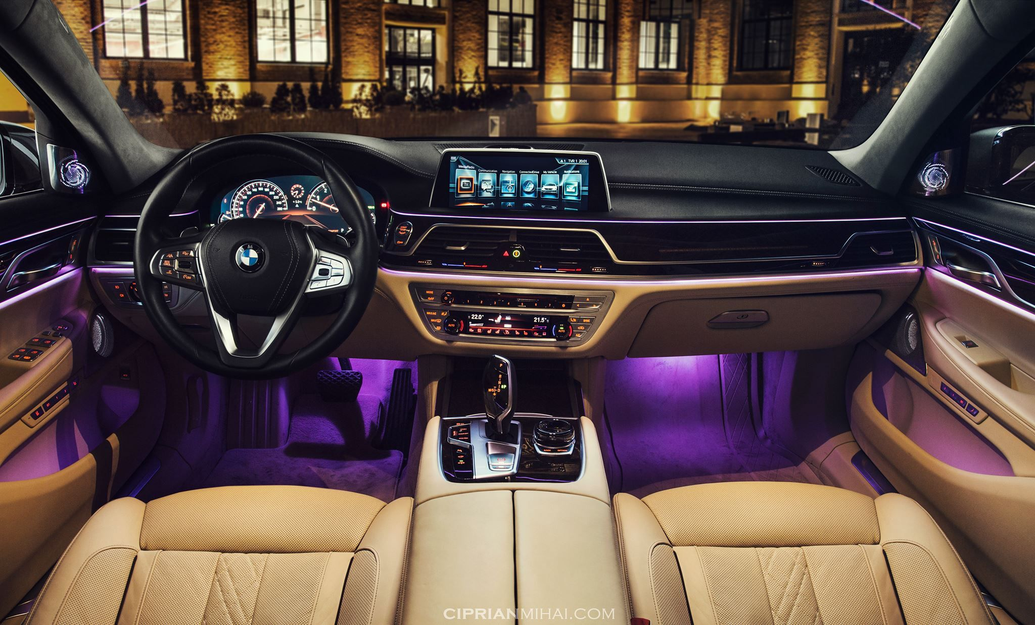Bmw G12 750li Xdrive Night Luxury Strong Fast Future Technology Light Ship Live Life Love Follow Your Heart Bmwlifem