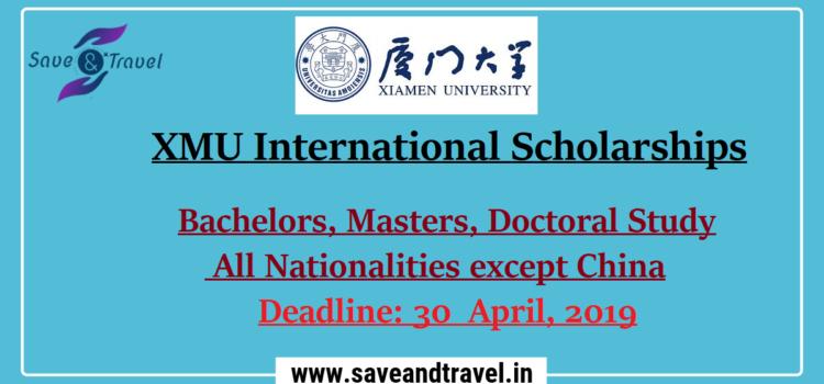 Xiamen University International Scholarships International