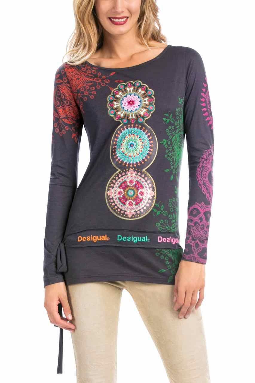 Shirt design canada - Desigual T Shirt Bonifacio Canada