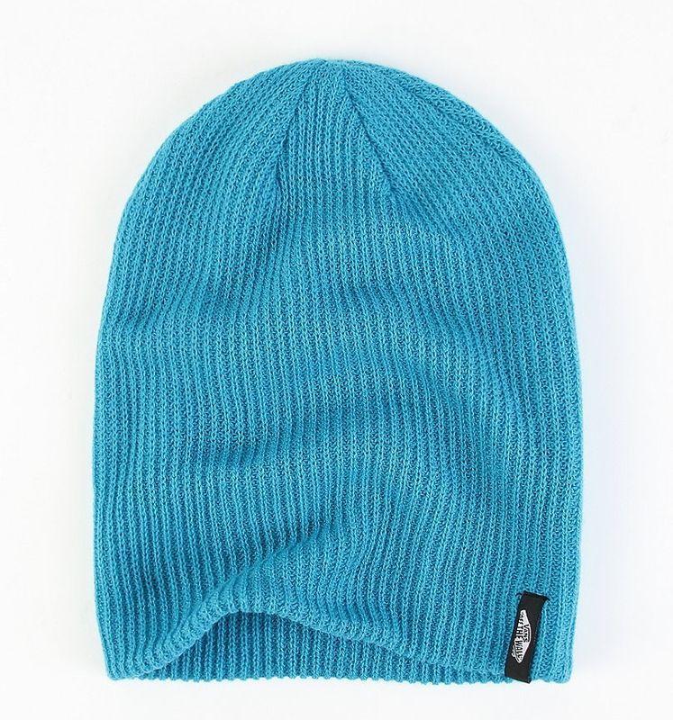 1d392e6c15bf Vans Off The Wall Mismoedig Aquamarine Slouch Beanie Hat
