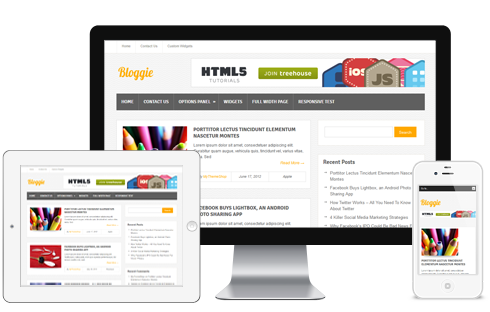 Bloggie Free Responsive WordPress Theme @ MyThemeShop | Wordpress ...