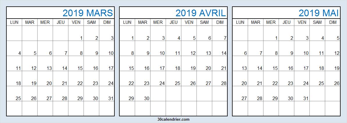 Calendrier Mois De Mars Avril Mai 2019 Eveil A La Foi