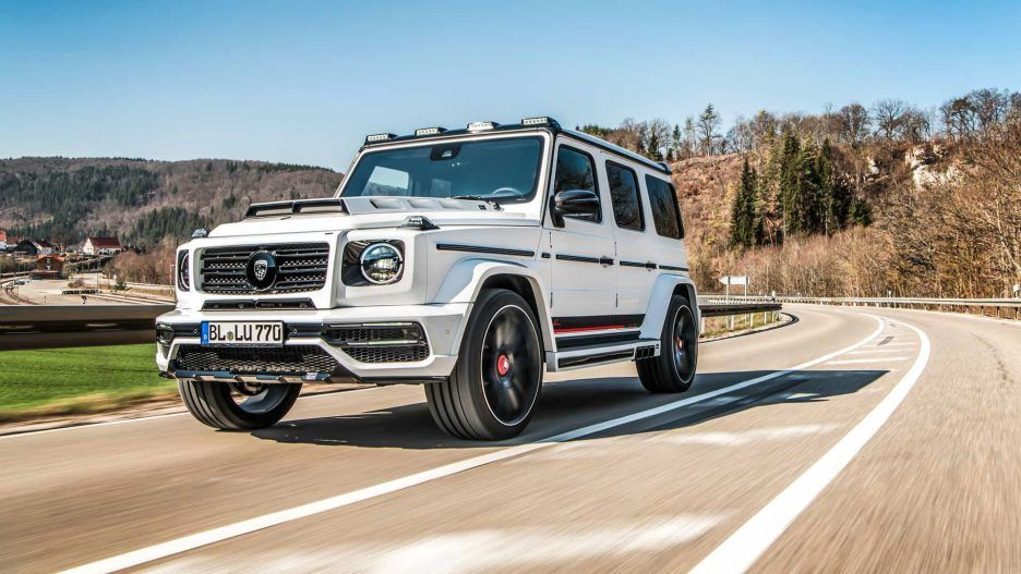 Lumma Clr G770 Is Wide And More Powerful Amg G Class Mercedes G