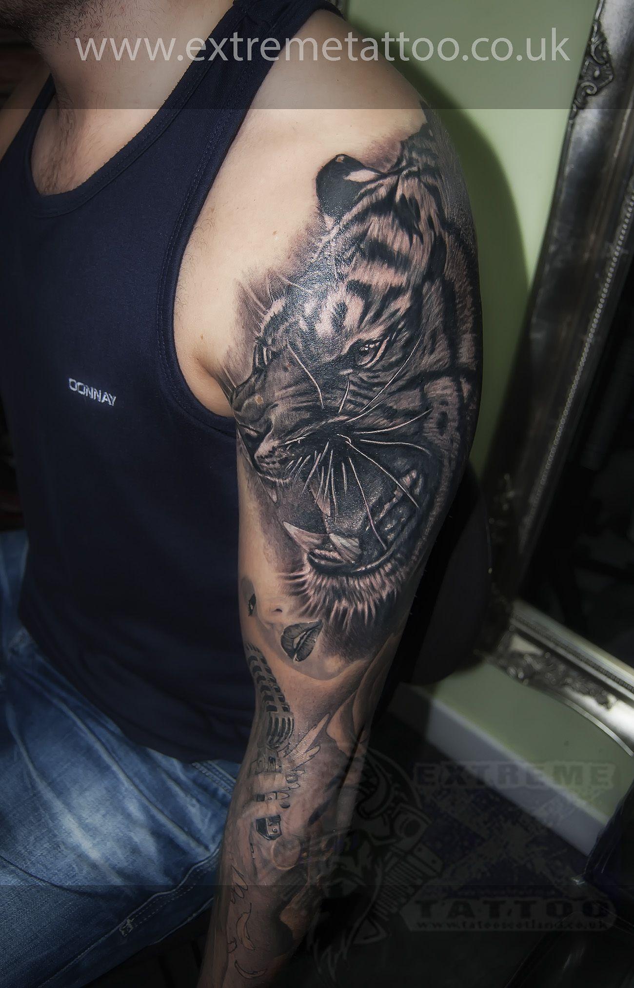 Maori Tattoo Cover Up: Tiger Cover Up Tattoo,Gabi Tomescu.Extreme Tattoo&piercing