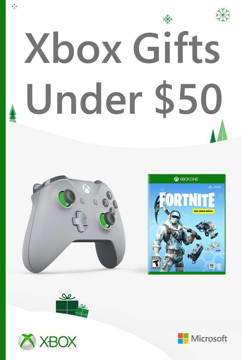 xbox gifts under 50  xbox gifts gifts holiday campaign