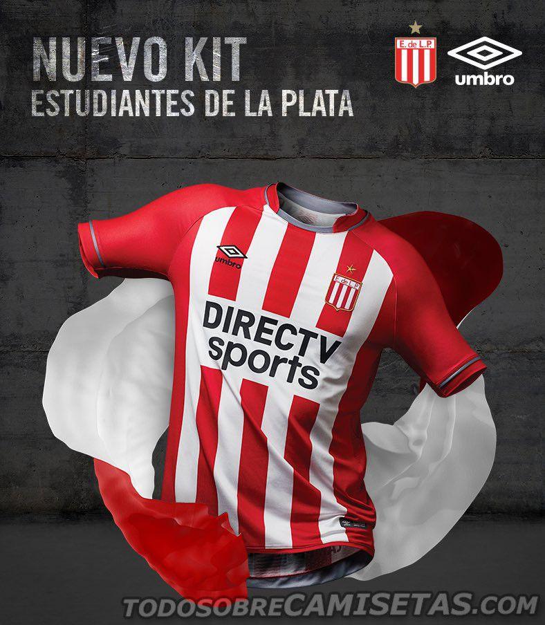 c06e6f70d Camiseta Titular Umbro de Estudiantes 2017-18
