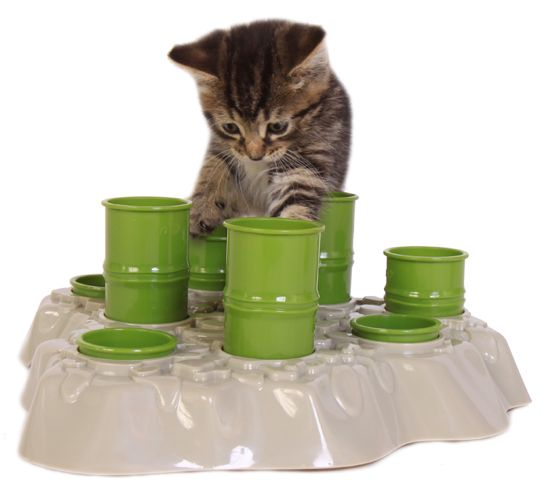 Diy Cat Slow Feeder: Thin Cat Interactive Feeder, Keep Your Cat In Shape And
