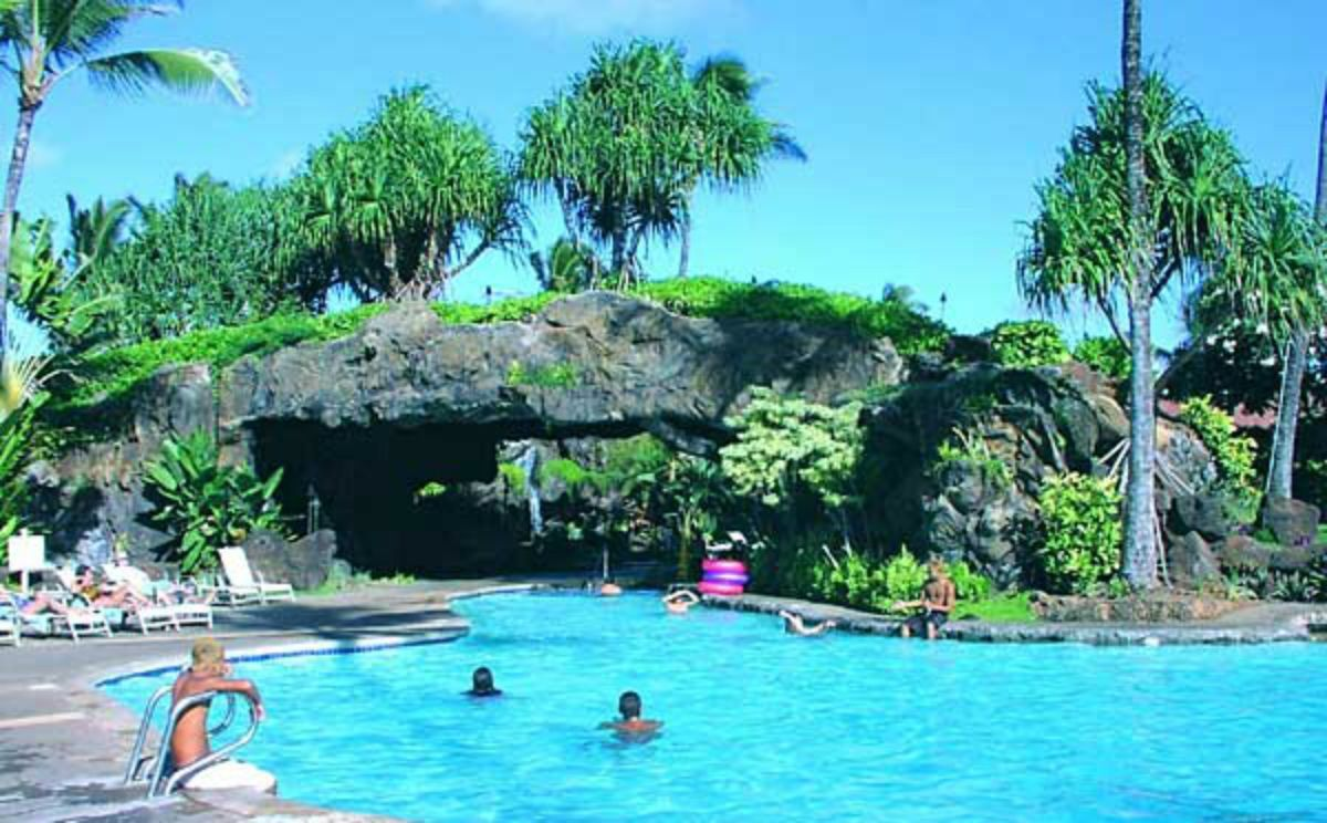 One Of The Pools At Kauai Beach Resort Featured In Our All