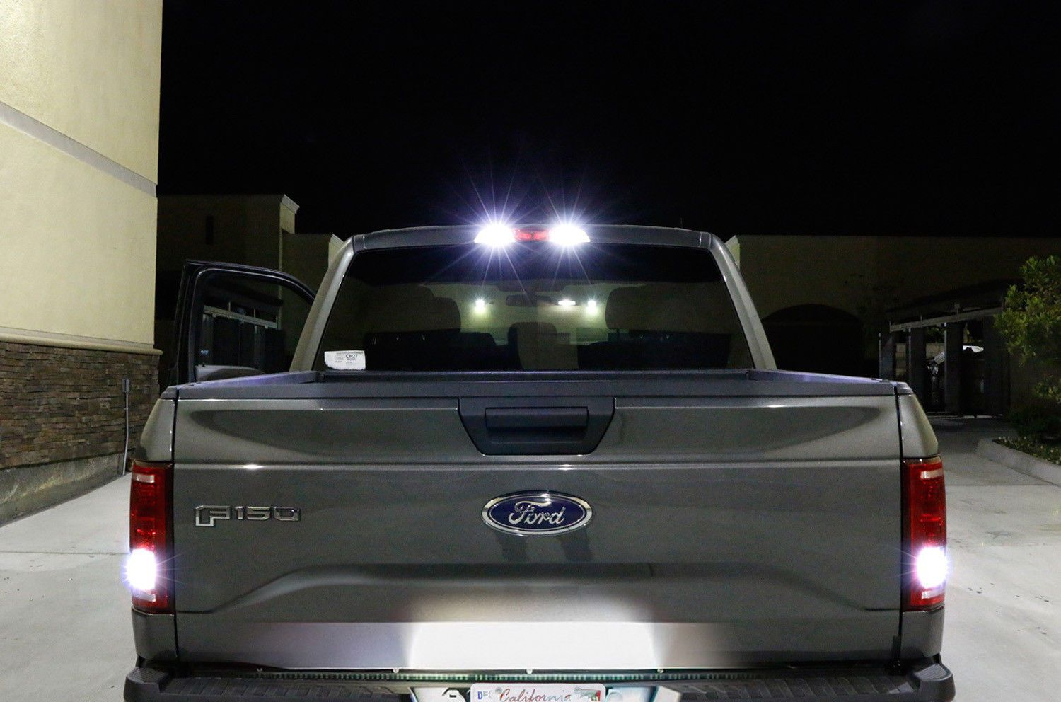 Led License Plate Backup High Mount Lights Combo Kit For 2015